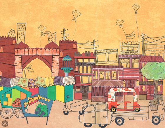 Postcards From India - Ahmedabad