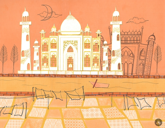Agra – A Postcard from India