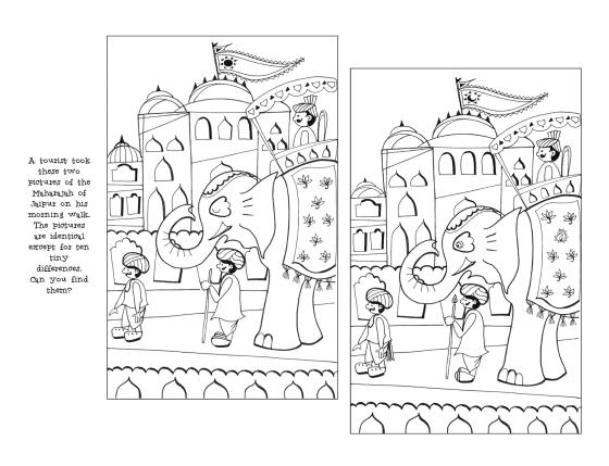 Puzzle_Jaipur Maharajah